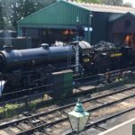 Urie S15 506 steams at the Mid-Hants railway for the first time
