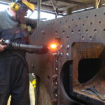 Riveting 499's centre casting
