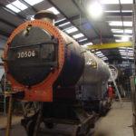 Urie S15 506's boiler