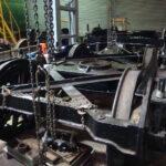 Tender bogies repaired and rewheeled