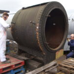 Dismantling a smokebox.