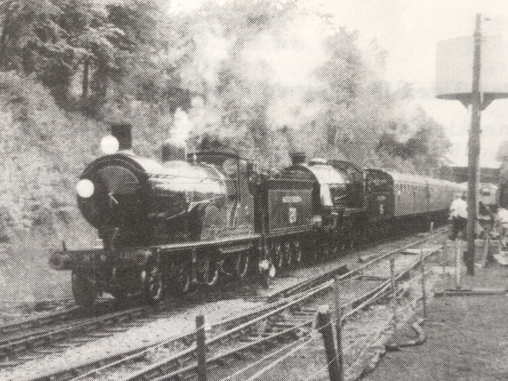 T9 4-4-0 No 120 with Urie S15 506